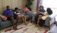 Türk ve Gana kültürlerini birleştiren aile
