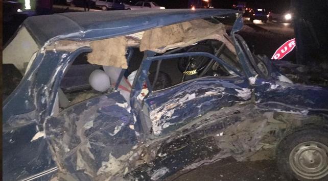 Çorumda trafik kazası: 2 ölü, 2 yaralı