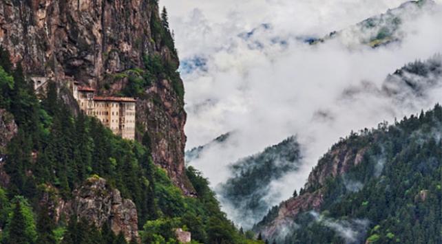 Sümela Manastırında hedef 500 bin ziyaretçi