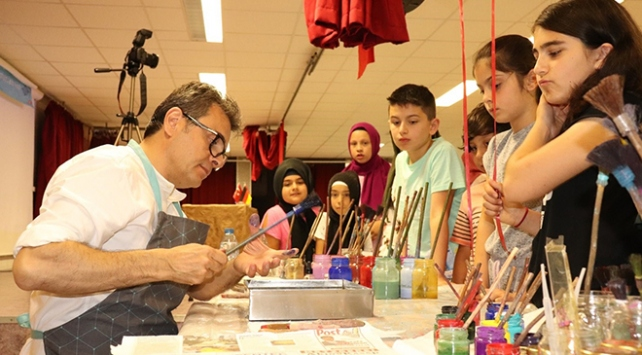 Almanyada geleneksel Türk el sanatları sergisi düzenlendi