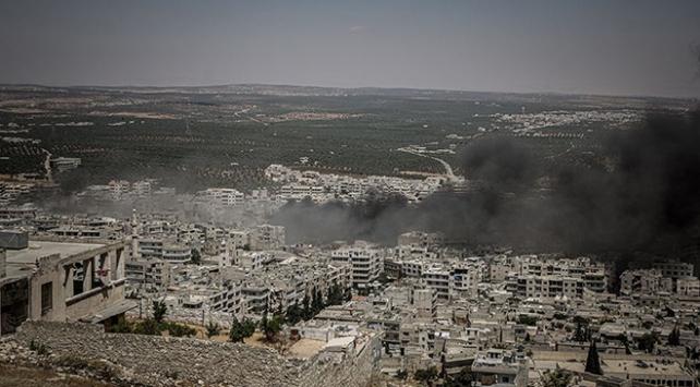 İdlibe hava saldırılarında iki çocuk yaşamını yitirdi
