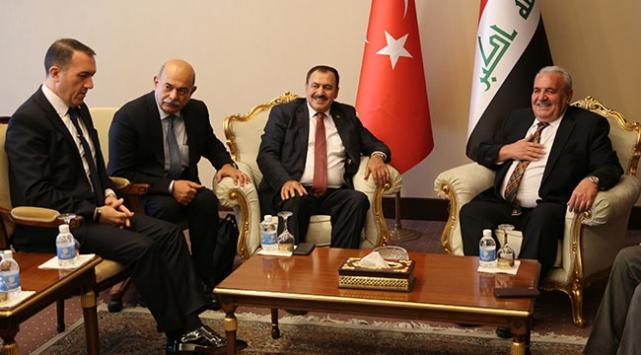 Türk ve Iraklı yetkililer iki ülke arasındaki su meselesini görüştü