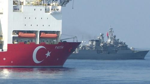 TRT Haber Akdeniz Kalkanı Harekatı'na katıldı