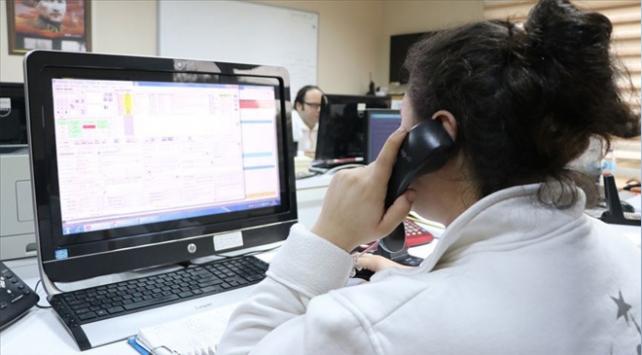 112 Acil Çağrı Merkezilerine gelen çağrıların yüzde 66sı asılsız