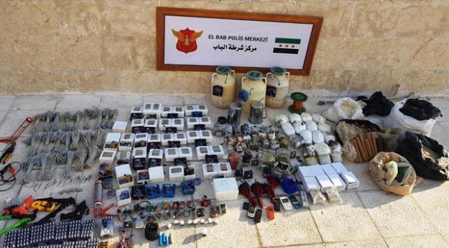 Jandarma ve MİT Bab ilçe merkezinde 1 ton patlayıcı ele geçirdi