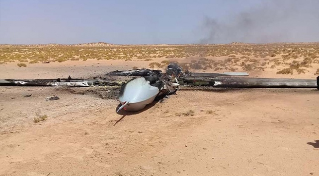 Libyada UMH Haftere ait İHAyı düşürdü