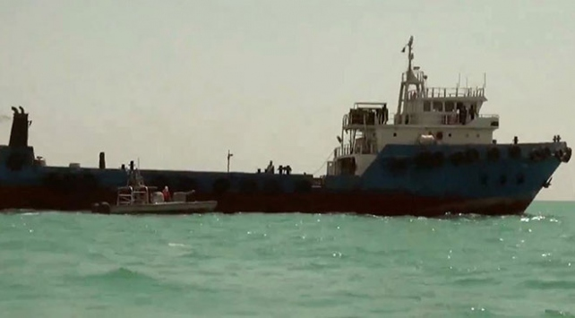 İran'ın el koyduğu gemi Irak'a ait