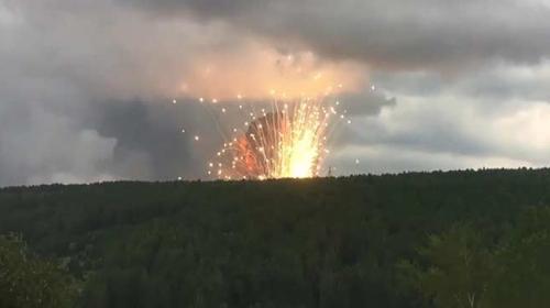 Rusya'da askeri birlikte patlama: 2 yaralı
