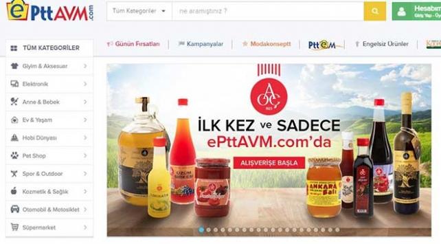Türkiyenin milli pazar yeri ePttAVM.comda bayram indirimi