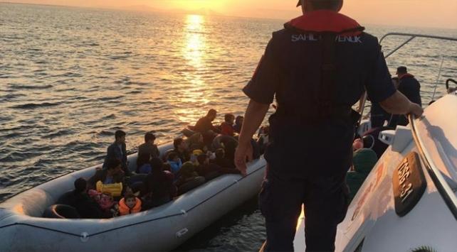 Çanakkalede 32 düzensiz göçmen yakalandı