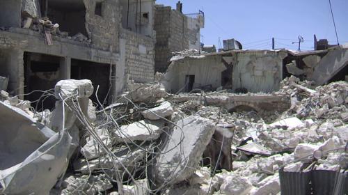 TRT Haber, İdlib'de rejimin en fazla hedef aldığı yerleşim yerine girdi
