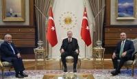 Cumhurbaşkanı Erdoğan Özbekistan Dışişleri Bakanı Kamilov'u kabul etti