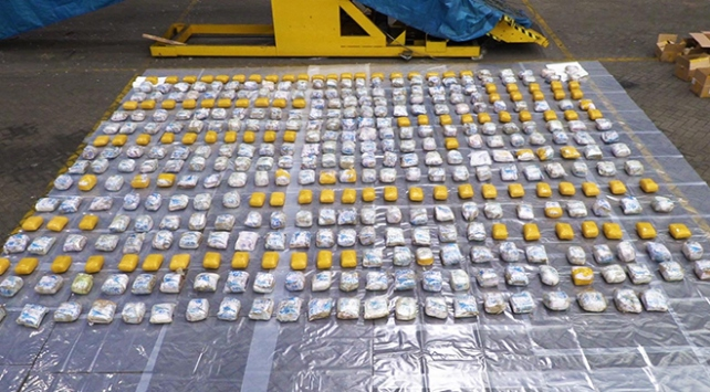 İngilterede 40 milyon sterlinlik uyuşturucu operasyonu