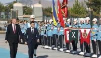 Cumhurbaşkanı Erdoğan, Zelenskiy'i resmi törenle karşıladı