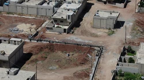 TRT Haber Ayn el-Arab'daki terör mevzilerini görüntüledi