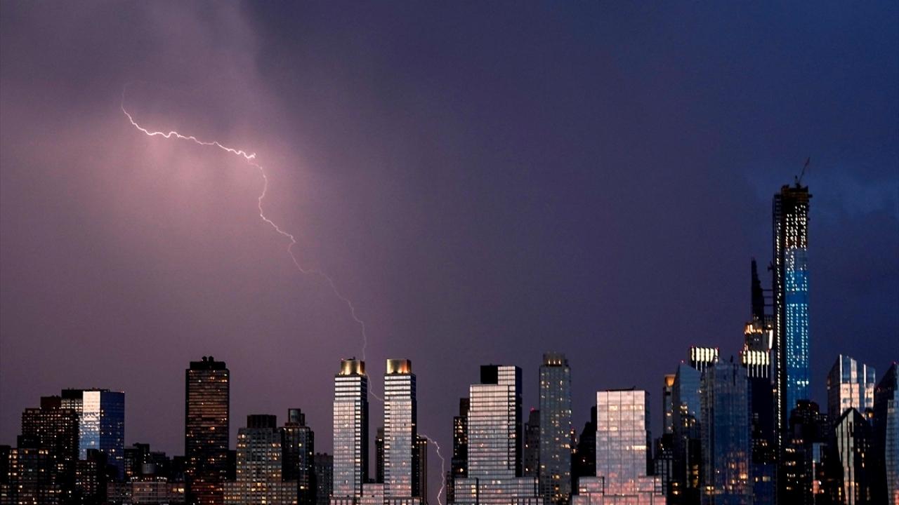 New Yorkta yağmur