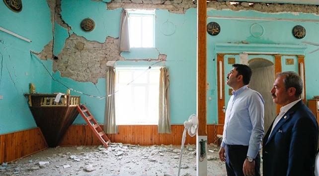 Denizlide hasar tespiti yapılan 976 binadan 108i ağır hasarlı