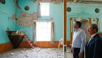 Denizli'de hasar tespiti yapılan 976 binadan 108'i ağır hasarlı
