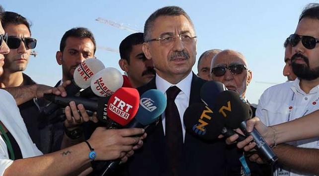 Fuat Oktay: Akdenizdeki sondaj çalışmaları kararlılıkla devam edecek