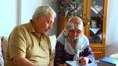 60 yıllık evli çift eski bayramları özlüyor