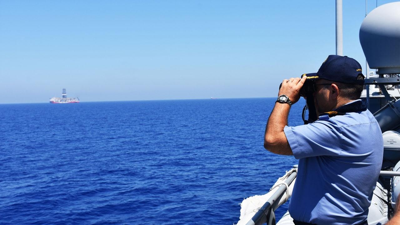 Doğu Akdenizdeki Türk donanmasında bayram heyecanı