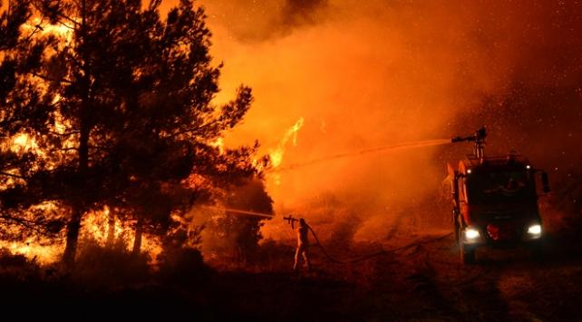Marmara Adasındaki yangın kontrol altına alındı