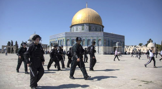 İİTden İsrailin Mescid-i Aksa baskınına kınama