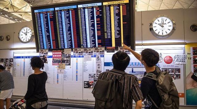 Hong Kong Uluslararası Havalimanında uçuşlar tekrar başladı
