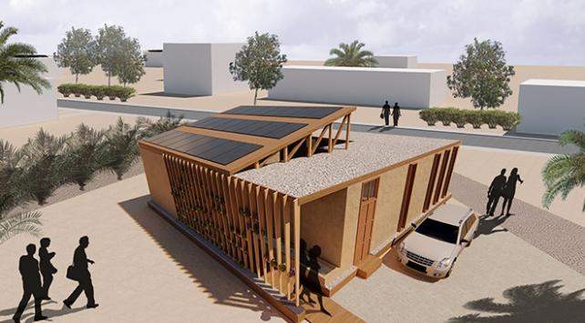 """Atıktan enerji elde edebilen """"akıllı ev"""" tasarladılar"""