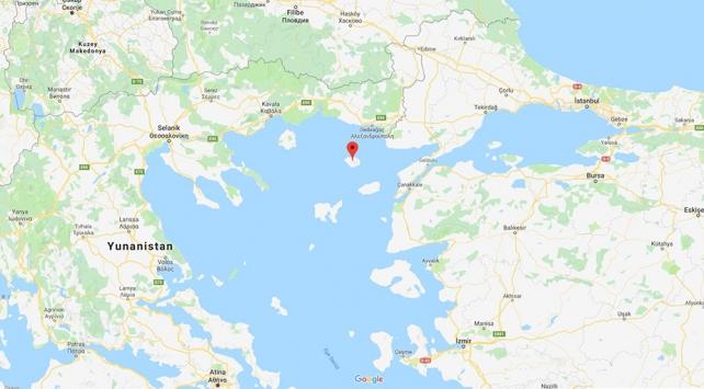 Yunanistanın Semadirek Adasında binin üzerinde turist mahsur kaldı