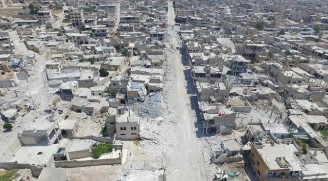 Suriyede rejim güçleri Han Şeyhuna yaklaştı
