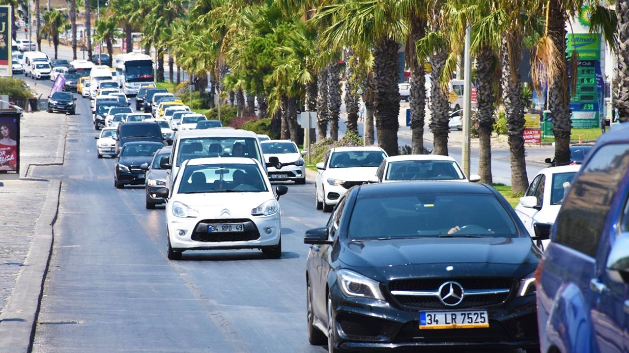 Bayram tatilinden dönüş trafiği