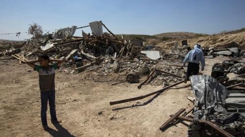 İsrail, Negev Çölü'ndeki Filistinli Bedevileri yerlerinden ediyor