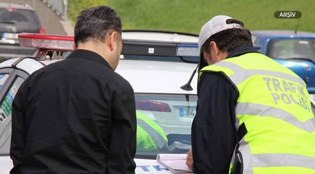 Drift yapan sürücüye 8 bin 862 lira ceza