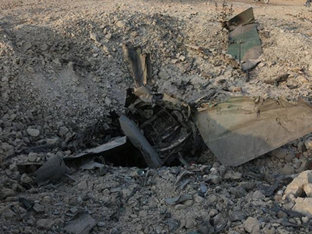 İdlibde Esed rejimine ait savaş uçağı düşürüldü