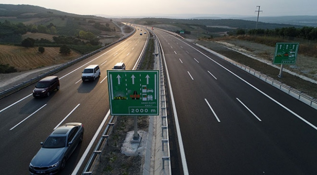 İstanbul-İzmir Otoyolu bayram trafiğini rahatlattı