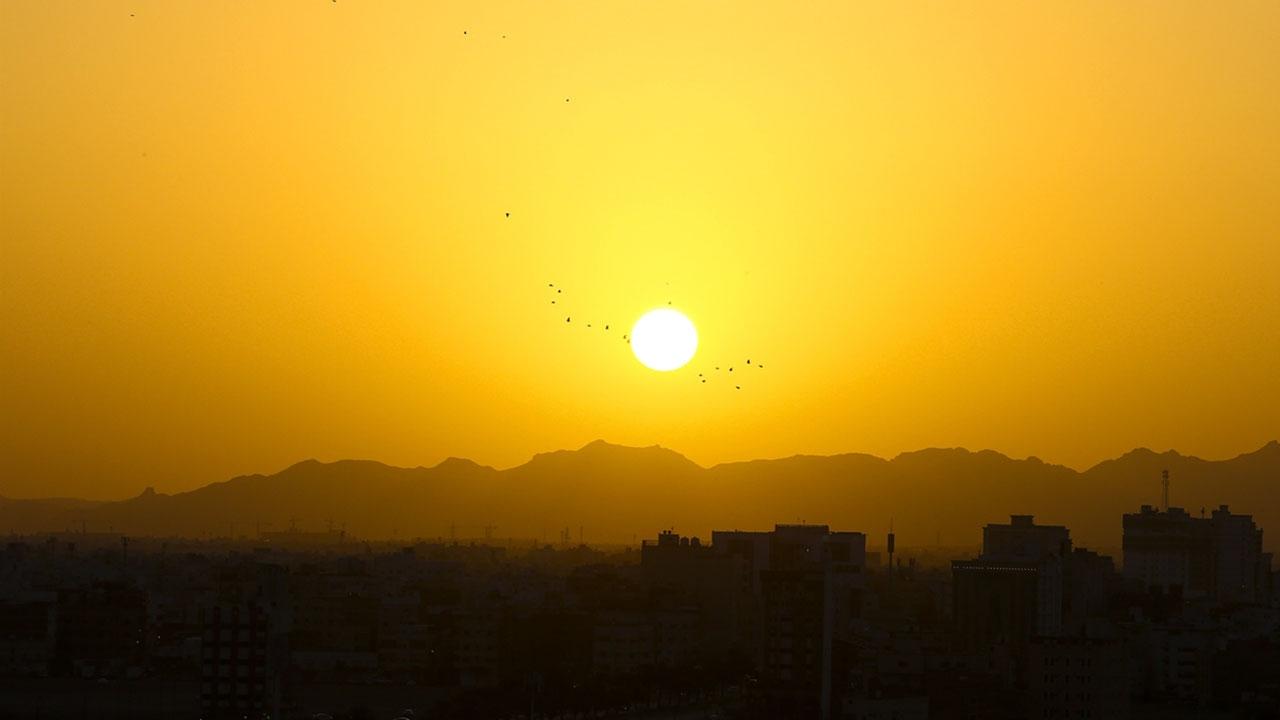 """""""Peygamber şehri""""nde sabah güzelliği"""