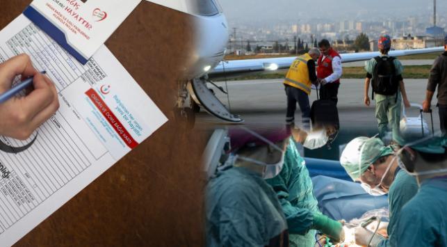 Türkiyede 2019un başından bu yana 2 bin 881 organ nakli yapıldı