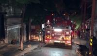 Beyoğlu'nda ev yangını