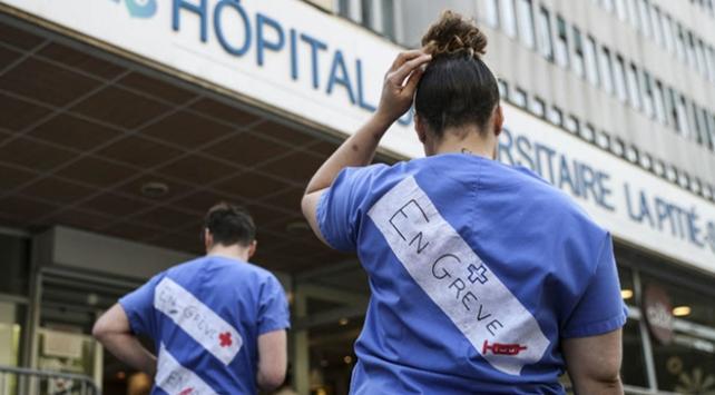Fransada sağlık çalışanları grevde