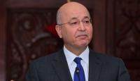Irak Cumhurbaşkanı Salih'ten ABD ve İran'a gerginliği azaltma çağrısı