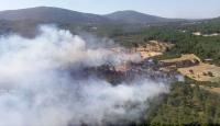 Bakan Pakdemirli: Urla yangını neredeyse tamamen kontrol altında