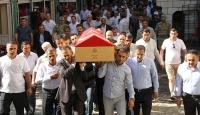 PKK'lı teröristlerin saldırısında yaşamını yitiren genç, toprağa verildi