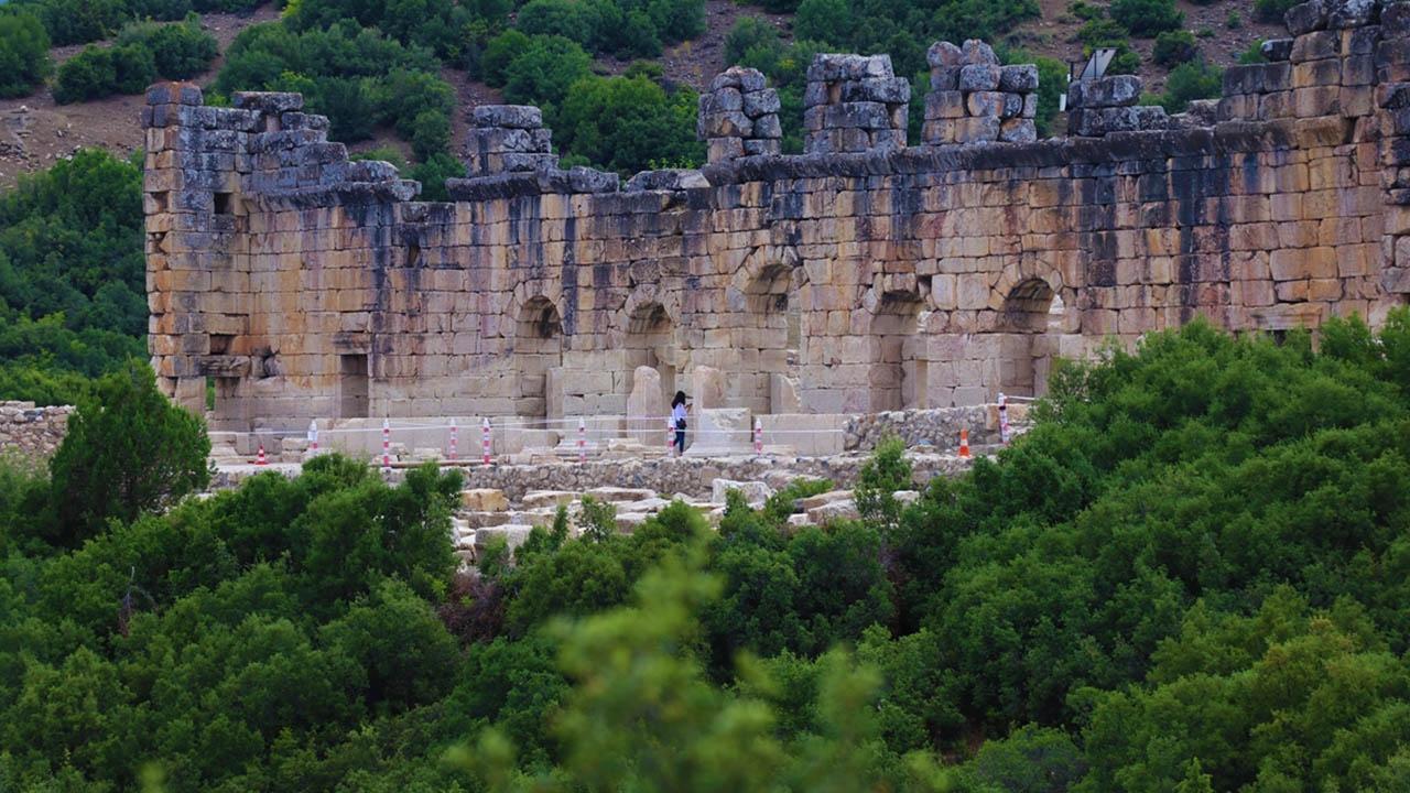 Kibyra Antik Kenti tarihe ışık tutuyor
