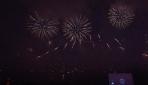 Rusyada Havai Fişek Festivali izleyenleri büyüledi