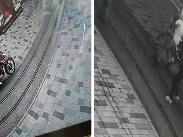 İstiklal Caddesi'nde motosikletiyle dehşet saçtı: 3 yaralı