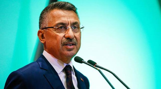 Cumhurbaşkanı Yardımcısı Oktay: Terörle mücadelemizi kararlılıkla sürdürüyoruz