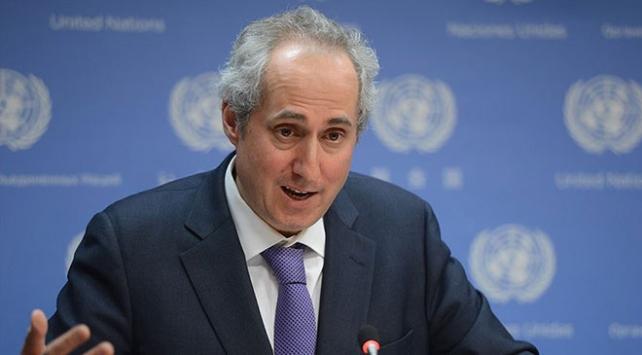 BM Genel Sekreter Sözcüsü Dujarric: İdlib'de Türk askeri konvoyuna yönelik saldırı endişe verici
