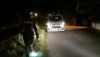 Düzce'de polis-şüpheli kovalamacası