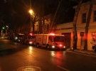 Galatasaray Üniversitesinde yangın